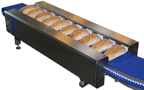 Danmatic Separator Principle for separating batch baked and cluster baked products