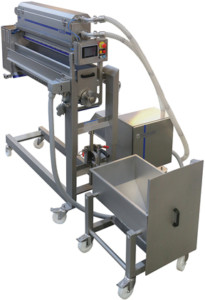 Danmatic Seeding Unit DU300-800. Moveable Unit with Seeder and Automatic filling